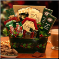 Deck The Halls Holiday Gift Basket