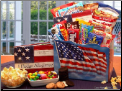 America The Beautiful Snack Gift Package