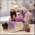 Spa Caddy Luxury Gift Basket