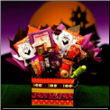 Boo Mania Halloween Bouquet Gift Package