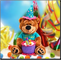 Brownie The Happy Birthday Bear Plush Gift