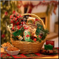 Holiday Celebration Traditional Snack Gift Basket