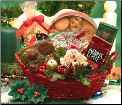 Holiday Cheer Christmas Gourmet Gift Basket