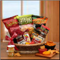 A Little Spice Gourmet Salsa & Chips Gift Basket