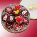 Valentines Double Dipped Oreo Cookies Tin