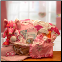 Precious Petals Deluxe Moses Carrier Gift Package
