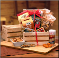 Premium Nuts & Snacks Crate