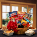 Snack Lovers Sampler Gourmet Gift Basket