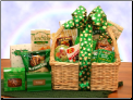 St Patrick's Day Gourmet Treats Gift Basket