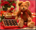 Hugs and Kisses Plush Teddy Bear with Chocolates