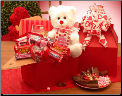 Deluxe Valentines Day Plush Gift Package
