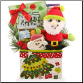 Santa Biscuits Dog Gift Package