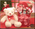 Big Kiss For You Valentine's Plush Gift Package