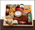 Deluxe Meat & Cheese Lovers Sampler Tray