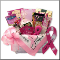 Find A Cure Breast Cancer Gift Basket