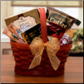 Mini Coffee Break Gift Basket