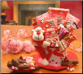 Monkey Love Valentine's Day Treats Gift Pail