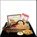 Snackers Delight Meat & Cheese Gift Crate