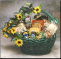 Sunflower Treats Gourmet Gift Basket