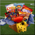 Touchdown Party Snacks Care Package