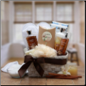 Vanilla Spa Gift Basket