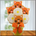 Cat Lovers Cookie Bouquet