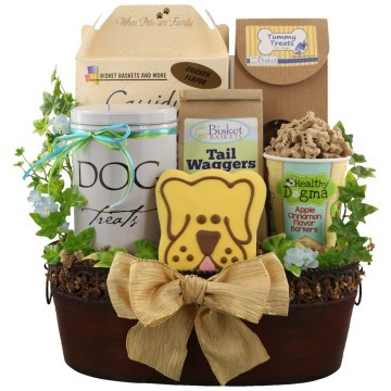 Dog Lover Thanksgiving Gift Baskets, Free Ground Shipping