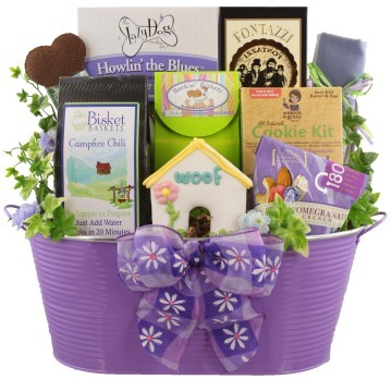 Dog & Owner Gift Baskets, Free Ground Shipping