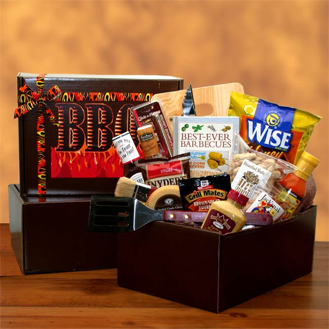 Grilling Gift Baskets, The Barbecue Master Gift Pack