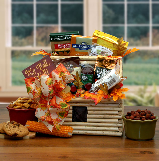 Thanksgiving Gift Baskets, Autumn Gift Packages
