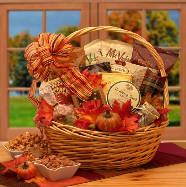 Thanksgiving Gift Baskets, Free Ground Shipping
