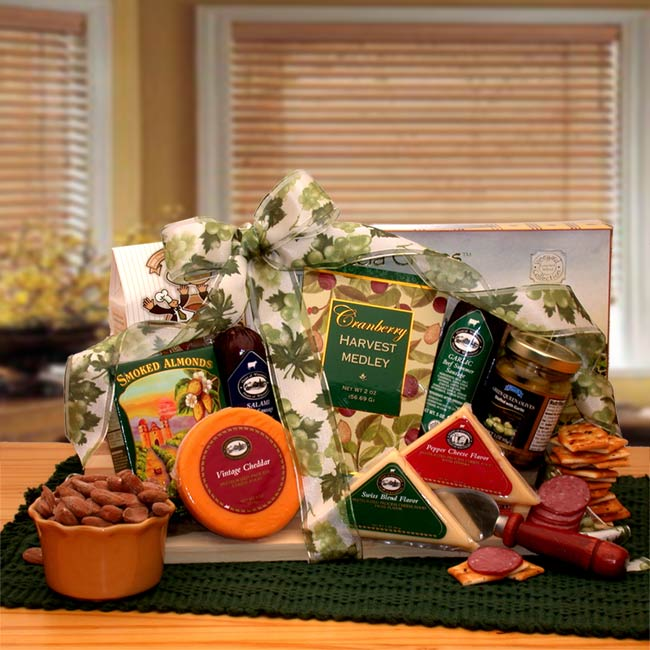 Meat & Cheese Gift Baskets, Free Shipping